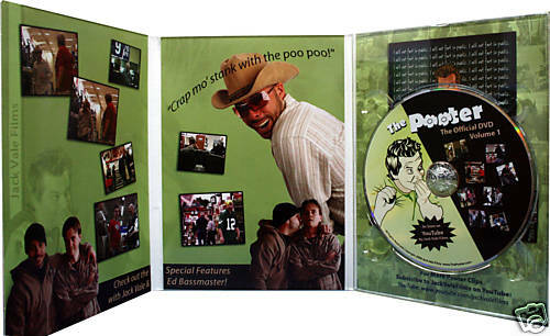 The Original Jack Vale Pooter DVD NEW Sealed Limited Edition