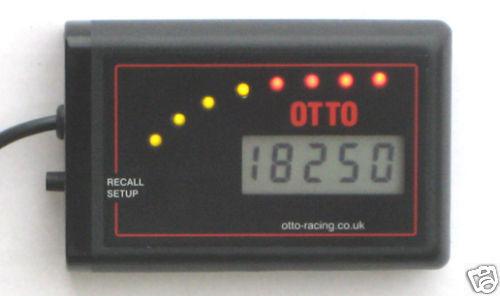 OTTO DT-RL REV LIMITER, SHIFT LIGHT & DIGITAL TACHO race rally car
