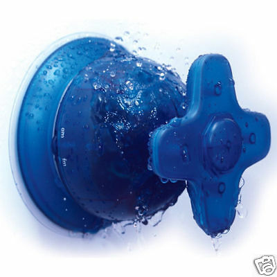 Shower Tap Radio (AM FM) Easy Install Fun Gift Gadget