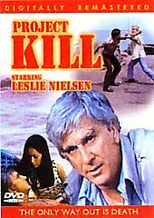 99 cent BRAND NEW  Project Kill DVD Leslie ( Airplane! ) Nielsen SEALED buy NOW