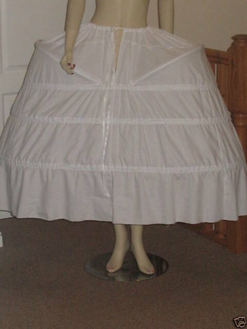 PANNIER PETTICOAT FOR BAROQUE / MARIE ANTOINETTE / 18th CENTURY  STYLE DRESSES