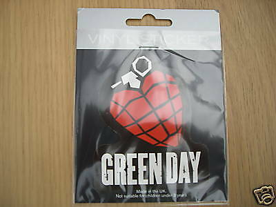 GREENDAY MUSIC/CD/MOSH/LAPTOP/CAR/DOOR/HELMET/STICKER