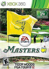 Tiger-Woods-PGA-Tour-12-The-Masters-Microsoft-Xbox-360-2011-VERY-GOOD