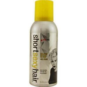 Short sexy hair spray