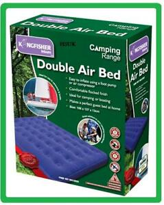 DOUBLE-INFLATABLE-AIR-BED-AIRBED-FLOCKED-COMFORT-MATTRESS-CAMPING-OUTDOOR-OL2