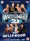 WWE - Wrestle Mania 21 (DVD, 2005, 3-Disc Set)