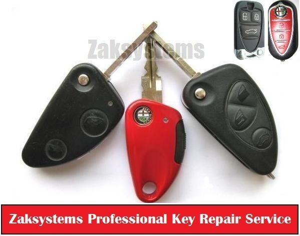 Alfa Remote Fob Key Repair for 156 147 GT 159 Brera MiTo
