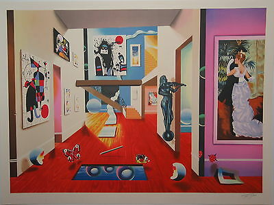 """FERJO- HOMAGE TO THE MASTERS LITHOGRAPH  24"""" x 31.5"""""""