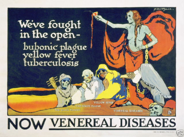 Now Venereal Diseases US Government health medical ad art poster print SKU3719