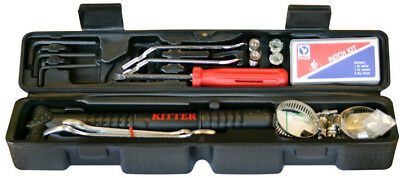 30 Piece Bicycle Bike Repair Kit with Mini Pump & Case