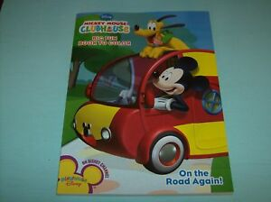 Image Is Loading Disney Mickey Mouse Clubhouse Big Fun Book To