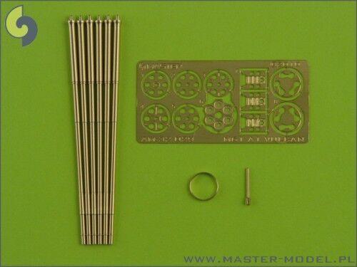 1/32 AM#29 MASTER MODEL BARRELS for M61 A1 VULCAN for TOMCAT HORNET EAGLE PROMO
