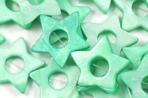 20x-Stella-Verde-guscio-madreperla-22mm