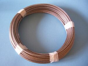 """Coil /& Reel 1//8/"""",7x19 Cable Railing Type 316 Stainless Steel Wire Rope Cable"""