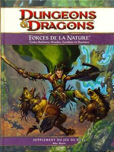 Jdr Rpg Jeu De Role / D&d 4 / Dungeons Et Dragons 4 Forces De La Nature