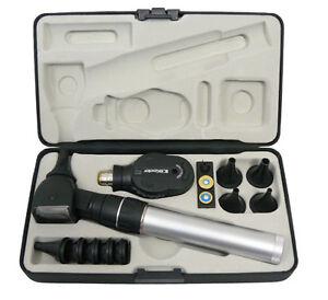 Keeler-Practitioner-2-8v-Fibre-Optic-Diagnostic-Set-FREE-LASER-ENGRAVING