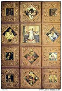 Belgique-Dinant-Sanctuaire-de-Notre-Dame-de-Foy-Plafond