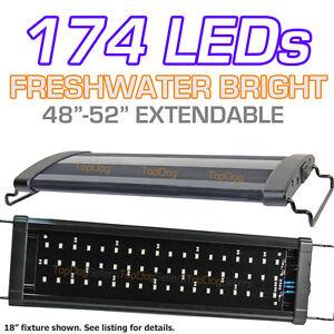 LED-Aquarium-Light-Freshwater-Tropical-Fish-Bright-Single-48-034-4-ft-120-cm-Discus