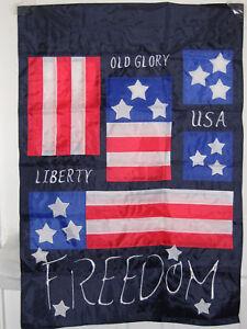FREEDOM-OLD-GLORY-LIBERTY-PATRIOTIC-GARDEN-FLAG-28X40