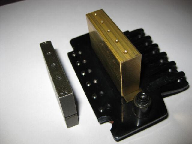 Ibanez LO TRS II tremolo big brass block Floyd Rose bridge upgrade