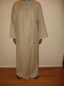 Egyptian Cotton Casual Men Galabia Beige Sleepwear Medium   eBay
