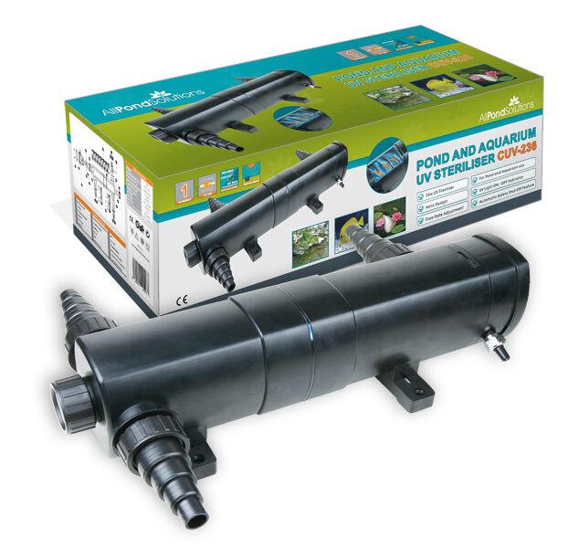 Pond UV Light Sterilizer Aquarium Clarifier Filter 36w All Pond Solutions CUV236