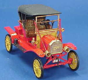 1/48 SCALE WISEMAN 1909 MODEL T FORD ROADSTER KIT NM-901TU NATIONAL MOTOR CO.