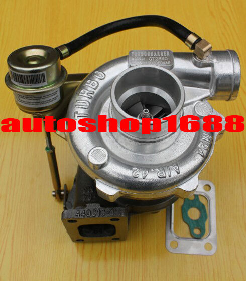 GT2860 GT28 turbo turbocharger A/R .64 Turbine comp A/R .42 T25 Flange water&oil