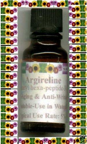 """1/2oz/15ml 100% ARGIRELINE """"Ar-joor-leen"""" Anti-Wrinkle Argiriline"""