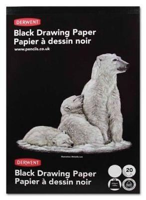 Derwent Black Paper Sketch Pad - A3