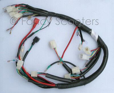 peace sports kid 110cc atv tpatv507, tpatv517 whole wire harness 110cc vin#  l6a | ebay  ebay