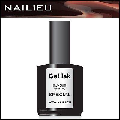 "Versiegelungsgel Haftgel ""TOP/Base NAIL1.EU"" 15ml Polish-Gel Versiegler Gel Lack"