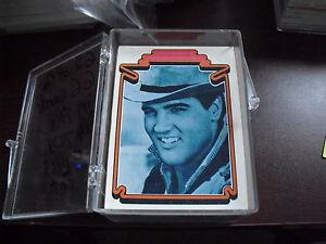 Near-Set-of-1978-Boxcar-Elvis-Presley-Trading-Cards