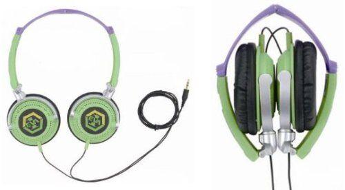 Neon Genesis Evangelion Headphones Foldable anime