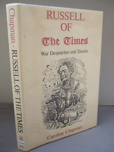 Russell-of-The-Times-War-Despatches-and-Diaries-HB-DJ