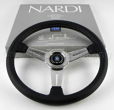 Nardi 360 mm Classic Steering Wheel Black Polished
