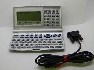 Sharp YO-520 Memo Master Wizard 1MB Electronic Organizer YO520 PC-Link MINT RARE