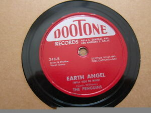 PENGUINS-Earth-Angel-Hey-Senorita-78-rpm