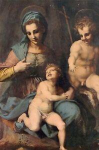 Italia-ROMA-Museo-Borghese-Madonna-con-il-bambin-F2449