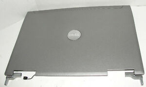 Dell-Latitude-D810-LCD-Back-Cover-LID-with-Hinge-and-Latch-D4202-B