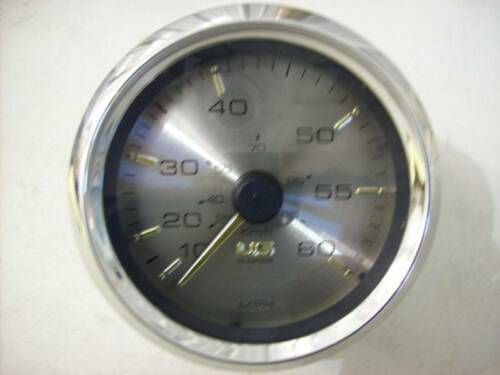 NOS OEM FARIA  60 MPH SPEEDOMETER FOR US MARINE SE9757A