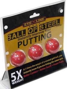 Eyeline-Balle-de-golf-de-acier-Putting-entrainement-aide