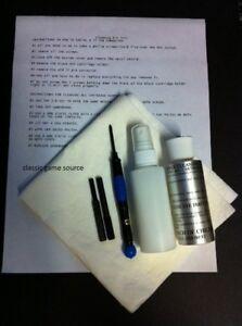 Tool-amp-Cleaning-3-Kit-for-Sega-Genesis-Games-amp-System