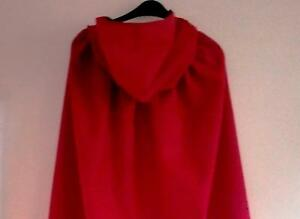 CHILDS-RED-COTTON-HOODED-CAPE-FOR-FANCYDRESS-DEVILS-RED-RIDING-HOOD-HALLOWE-039-EN