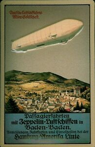 ZEPPELIN-HAMBURGO-America-Letrero-De-Metal-3d-en-relieve-Tin-Sign-20-x-30cm