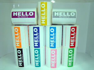 50-Labels-PURPLE-Hello-My-Name-Is-Name-Tag-Identification-Stickers