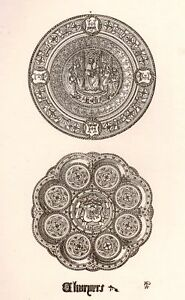 A-Pugins-Litho-Gold-Silver-Designs-1830-CHARGERS
