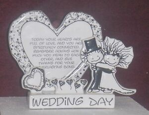 WEDDING-DAY-SCULPTED-GREETING-CARD-CHILDREN-LIGHT-NEW-CERAMIC-NICE-GIFT-CUTE