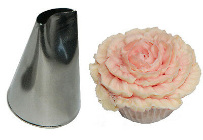 Cake decorating Piping Tube - CURVED PETAL- 61