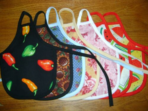FLORAL FLOWERS /& FRUIT DESIGN Dish Soap Bottle Apron